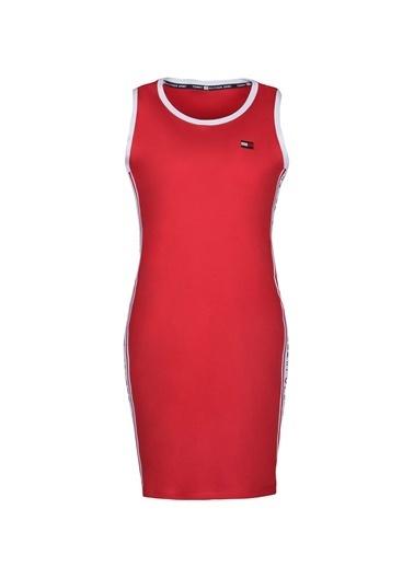 Tommy Hilfiger Kadın  Elbise TP98095Z-TRE Kırmızı